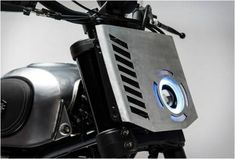 "Cool Ducati Scrambler Dirt Tracker built by Gessato. They made the Scrambler look a bit more aggressive and ""dirty"". Moto Scrambler, Moto Ducati, Tracker Motorcycle, Motorcycle Headlight, Cafe Racer Motorcycle, Motorcycle Design, Classic Motorcycle, Bobber Custom, Scrambler Custom"