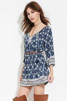 Vestido Floral Paisley - Vestidos - 2000180172 - Forever 21 EU Español