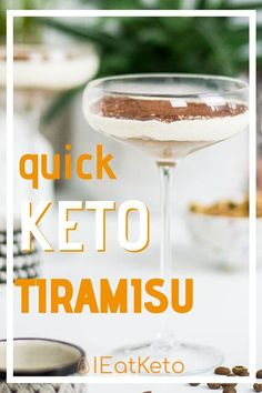 This quick home made keto tiramisu recipe is amazing and you will love it. The best thing about this delicious dessert? 3.5g net carbs per serving! Great for all those dessert cravings but without the guilt. Keto and low carb friendly desert. Keto Friendly Desserts, Keto Desserts, Dessert Recipes, Cheesecake Recipes, Dessert Ideas, Drink Recipes, Delicious Desserts, Dinner Recipes, Low Carb Recipes