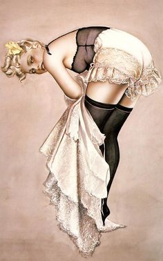 History of Art: Pin-up Art - Olivia de Berardinis #pinups