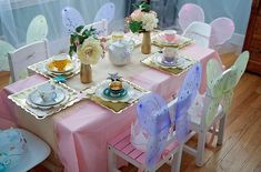 Garden Tea Party Birthday Party Ideas | Photo 5 of 25 | Catch My Party | Princess Tea Party