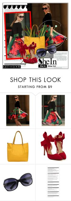 """""""SheIN 10"""" by selmina ❤ liked on Polyvore featuring Arche, OKA, Sheinside and shein"""