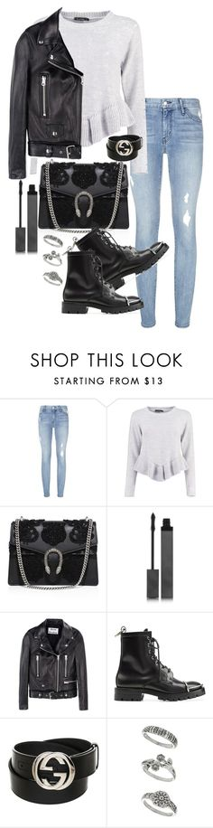 """Unbenannt #1653"" by tyra482 ❤ liked on Polyvore featuring Koral, Boohoo, Gucci, Burberry, Acne Studios, Alexander Wang and Miss Selfridge"