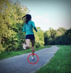 Adopting a more flatter foot strike to transition from heel striking to forefoot striking to avoid Achilles injury http://runforefoot.com/midfoot-strike-to-learn-forefoot-running/
