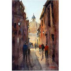 Trademark Art Rome Canvas Art by Ryan Radke, Size: 30 x 47, Multicolor