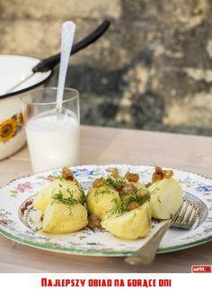 Najlepszy obiad na gorące dni Polish Recipes, Polish Food, Poland People, Poland Country, Glass Of Milk, Camembert Cheese, Grandmothers, Breakfast, Kitchen