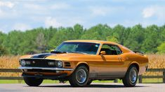 1970 #Ford #Mustang Mach 1 Fastback // #MecumDallas #Texas #CarShow #Auction…