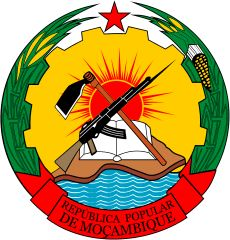 Image result for the emblem of Mozambique