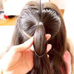 時間がないときのハートヘアアレンジ♡ | 女の子のママ必見!子供のヘアアレンジ♡ Hair Arrange, Cute Hairstyles, Hairdos, Hair Beauty, Hair Styles, Makeup, How To Make, Image, Nice