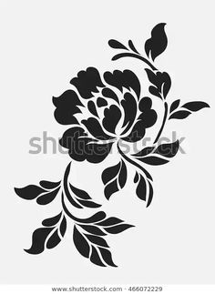 Find Flower Motif Sketch Design stock images in HD and millions of other royalty-free stock photos, illustrations and vectors in the Shutterstock collection. Line Design Pattern, Motif Design, Paisley Design, Paisley Pattern, Stencil Printing, Stencil Art, Flower Stencils, Stencil Patterns, Stencil Designs