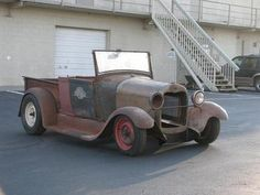 Ford : Model A Roadster Pickup 1929 Ford Model A R - http://www.legendaryfinds.com/ford-model-a-roadster-pickup-1929-ford-model-a-r/