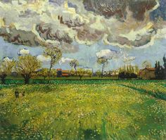 Vincent van Gogh Landscape under Stormy Skies painting for sale, this painting is available as handmade reproduction. Shop for Vincent van Gogh Landscape under Stormy Skies painting and frame at a discount of off. Art Van, Van Gogh Art, Vincent Van Gogh Werke, Vincent Willem Van Gogh, Van Gogh Museum, Art Museum, Van Gogh Landscapes, Landscape Paintings, Desenhos Van Gogh