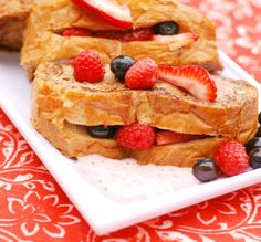 Berry-Stuffed French Toast