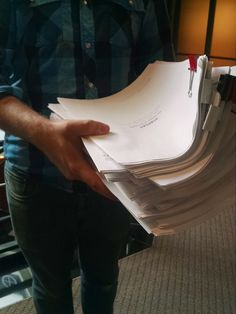 Scripts for our first read-through of Scarlet: The Outlaws of Nottingham in 2015