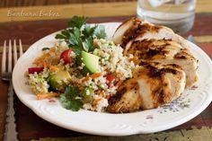 Quinoa, tomato, and avocado salad