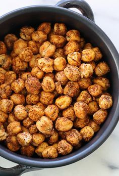 Roasted Chickpea Snack – a healthy, nutrient rich snack.