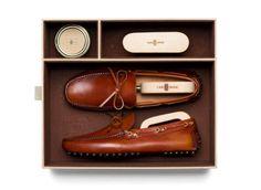 Regalos para un Gentleman Driver  - Car Shoe Kit de mocasines para conducir