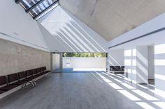 Планировка естественного освещения. Tanatorium by Salas Architecture + Design