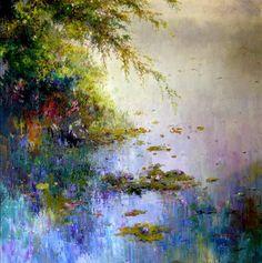 Water Lilies, Jose Miguel roman Frances