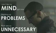 Heavy lyrics by Linkin Park