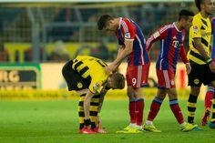 Die Bilder zur Begegnung BVB gegen Bayern München (27. Spieltag).