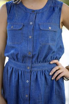 Willa Denim Day Dress