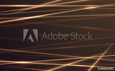 Golden Background, Line Background, Gold Light, Abstract, Summary