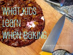 Do you often let your kids do the baking? I think you have to do it when you have extra time and when you're ready to have a bit of extra mess! Interesting to consider just how much learning goes on as they cook.