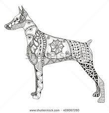 Image result for doberman tattoo