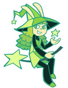 It's Peridot in the style of Pop'n Music. I always did like the character designs in those games, even if the crescent mouths looked a little weird sometimes.