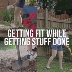 How to Burn Calories While Doing Yard Work