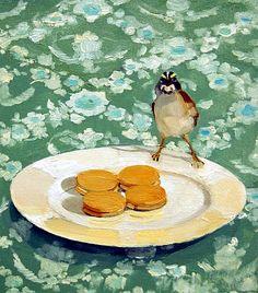 Susan Homer  Ginger Cookies and Bird  2008
