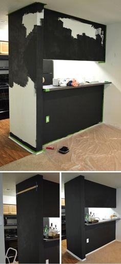 Handmade Chalkboard Kitchen Wall