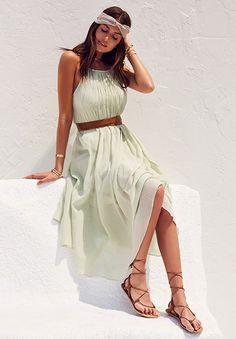 TIBI Shirred Dress   REVOLVE