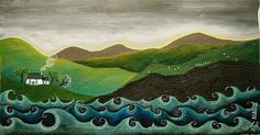 Bwthyn glan môr (Seaside Cottage) by Valériane Leblond