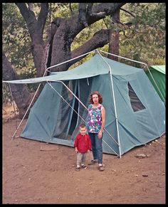 Camping 1965 Sears Tent
