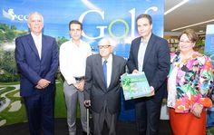 """CCN y """"Orgullo de mi tierra"""" presentan libro Golf RD"""