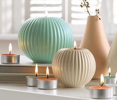 Svícny na čajové svíčky, 2 ks