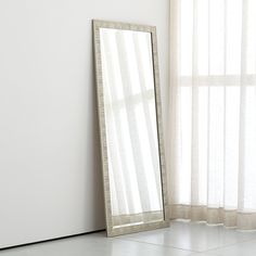 Colby Bronze Floor Mirror | Floor mirror, Steel frame and Stainless ...