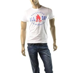 Hollister T Shirt Mens NEW Victoria Beach Size M Muscle Shirts by Abercrombie  http://stores.ebay.com/ImageStudio714  #Hollister #BasicTee