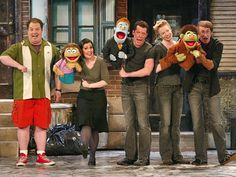 Avenue Q. Again, this is another musical not a play, but it is very funny. For anyone who grew up with Sesame St Avenue Q is the adult version. Theatre Nerds, Music Theater, Broadway Theatre, Broadway Shows, Broadway Costumes, Cool Costumes, Drama Stage, Harold Lloyd, Actors & Actresses