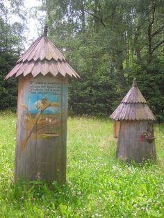 Fabulous Hungarian beehives