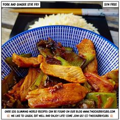 Make this pork and ginger stir fry - it's syn free, it's fresh, tasty and quick, and perfect for Slimming World! Stir Fry Recipes, Pork Chop Recipes, Pork Stir Fry, Cheesy Sauce, Frozen Spinach, Syn Free, Chops Recipe, Bbc Good Food Recipes, Slimming World Recipes
