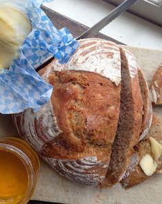 Recipe: Whole Wheat No-Knead Bread