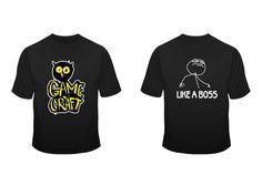 The first GameCraft t-shirts :) Wear them like a boss!