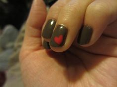 Looks like my nails are looking forward to Valentines Day!