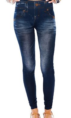 Leggings color azul oscuro