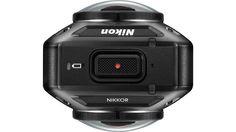 山が動いた感。 CES 2016にて、ニコンが初のアクションカメラを発表しました。その名も「KeyMission 360」。前後のカメラで全方位360度を4K撮影できるようです。 2つのカメラには、