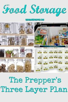 The Three Layer Food Storage Plan – The Organic Prepper In all things survival, you need a layer of three, including your food supply. Here's what you should have in your three layers of food storage. Survival Items, Survival Supplies, Survival Food, Emergency Preparedness, Survival Skills, Survival Quotes, Survival Prepping, Emergency Food, Survival Family