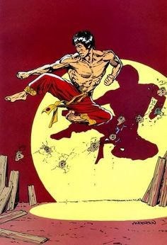 Master of Kung Fu, Shang-Chi by Brent Anderson Marvel Comic Character, Comic Book Characters, Comic Books Art, Book Art, Bruce Lee Art, Misty Knight, D Mark, Marvel Comics Art, Comic Page